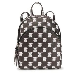 Handbags - Checkered cat mini backpack